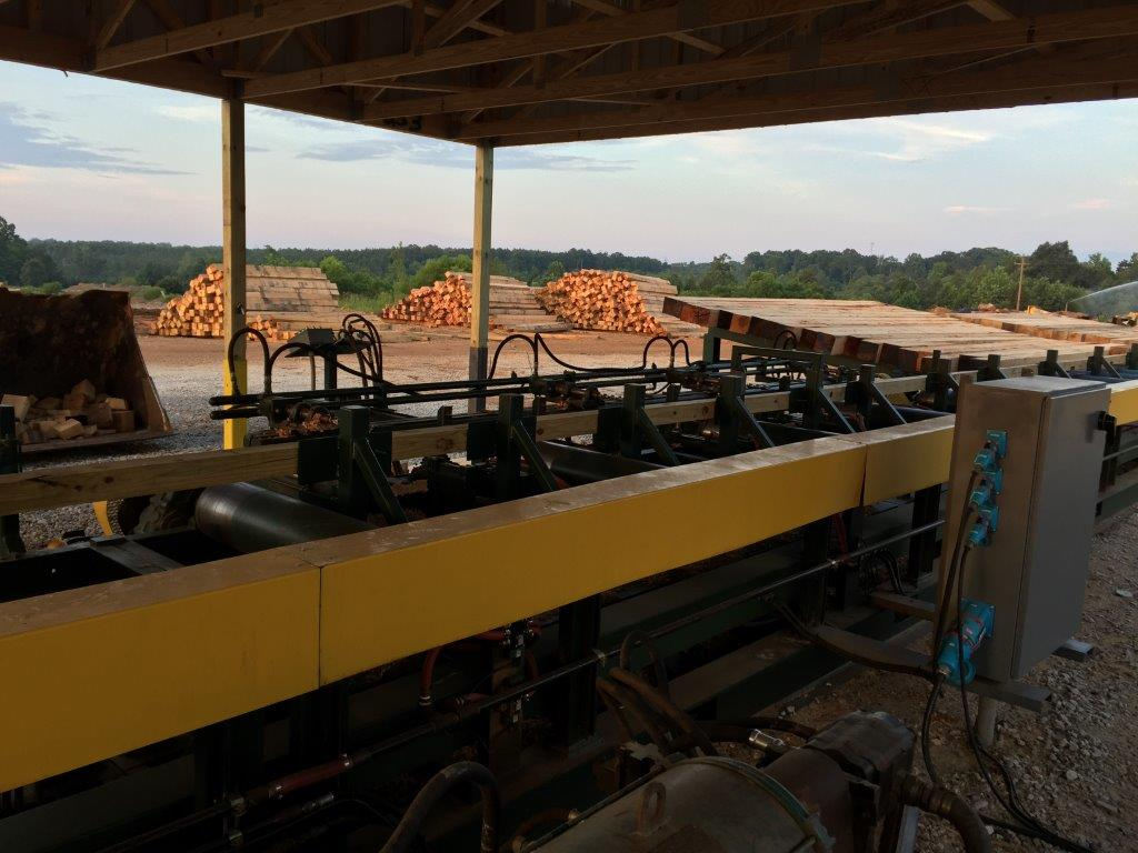 timber mat machine