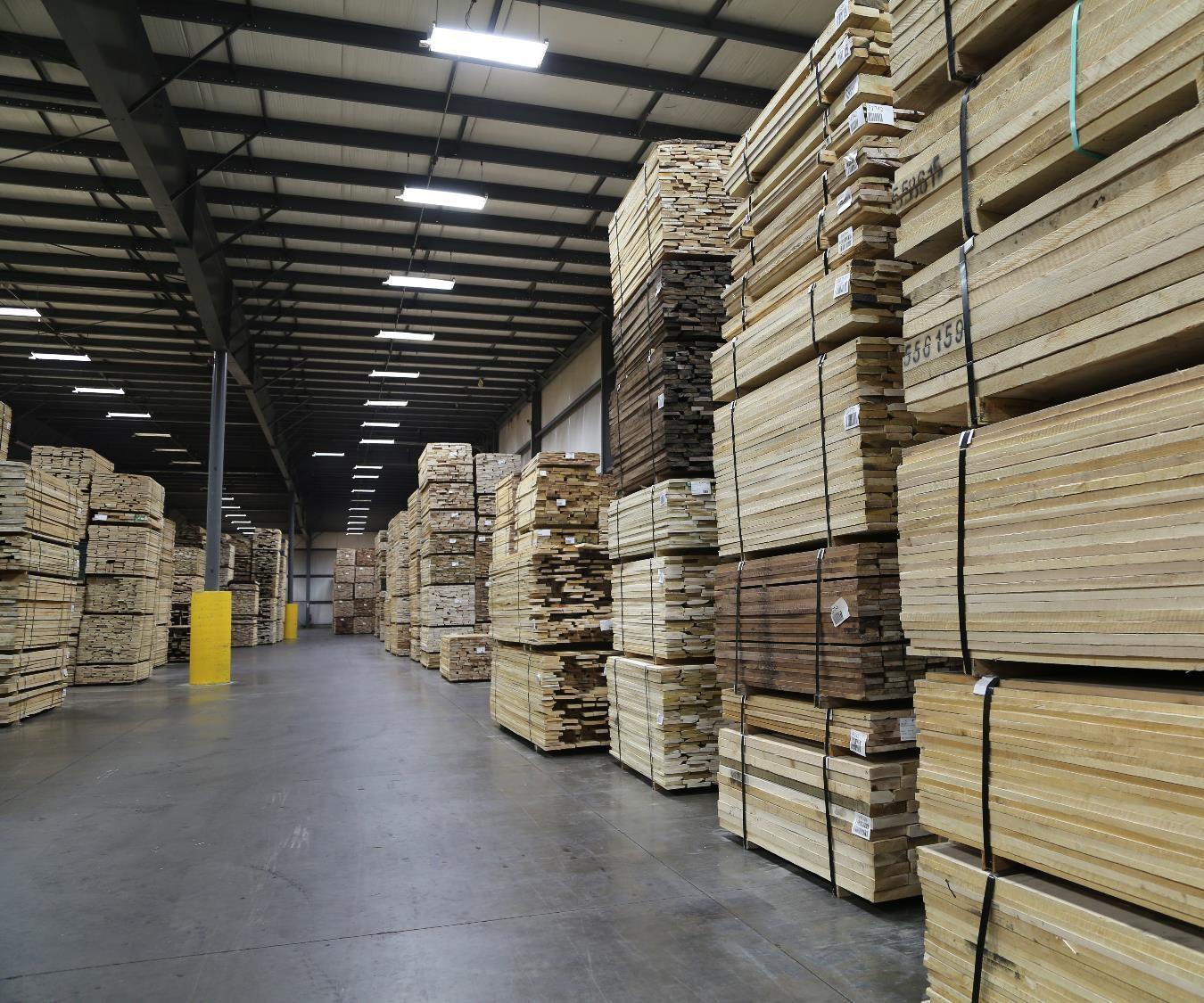 Montezuma In Baillie Lumber Hardwood Supplier