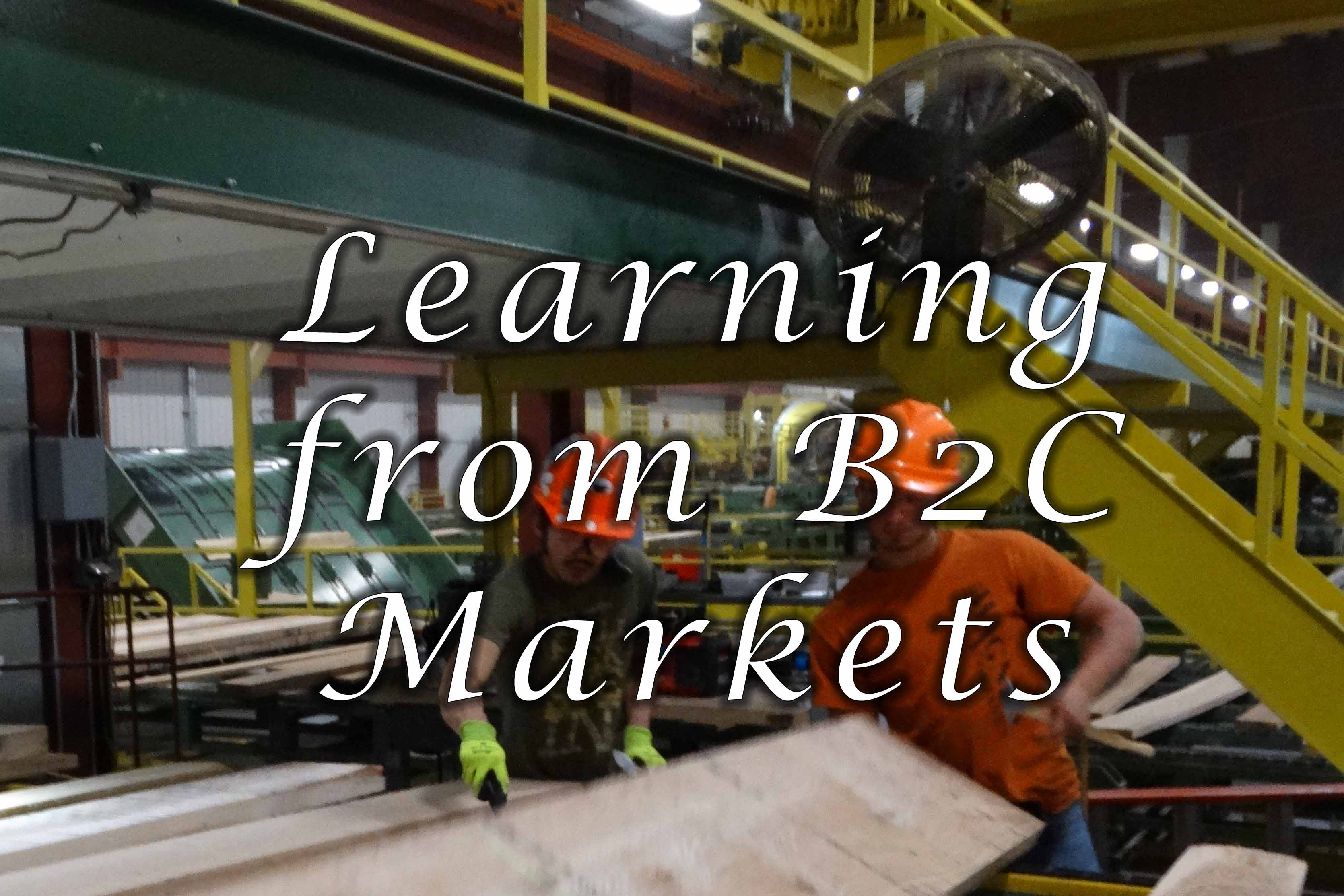 learning from b2c markets