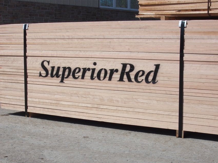 cherry hardwood lumber - superior red