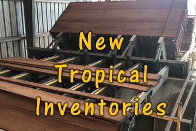 New Year - New Tropical Hardwood Inventory