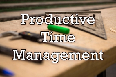 5 Tips for Productive Time Management