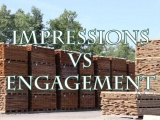 Do you track impressions or engagement?