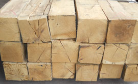 white oak hardwood cants