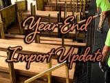 Year-End Import Update from Jesper